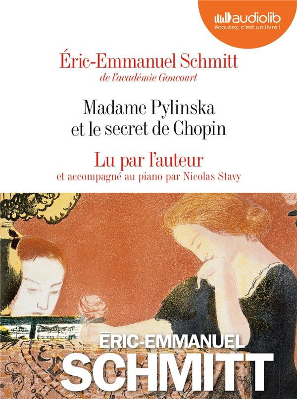 LE CYCLE DE L'INVISIBLE   MADAME PYLINSKA ET LE SECRET DE CHOPIN   LIVRE AUDIO 2 CD AUDIO